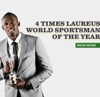 Usain nominated for Laureus World Sportsman of the Year