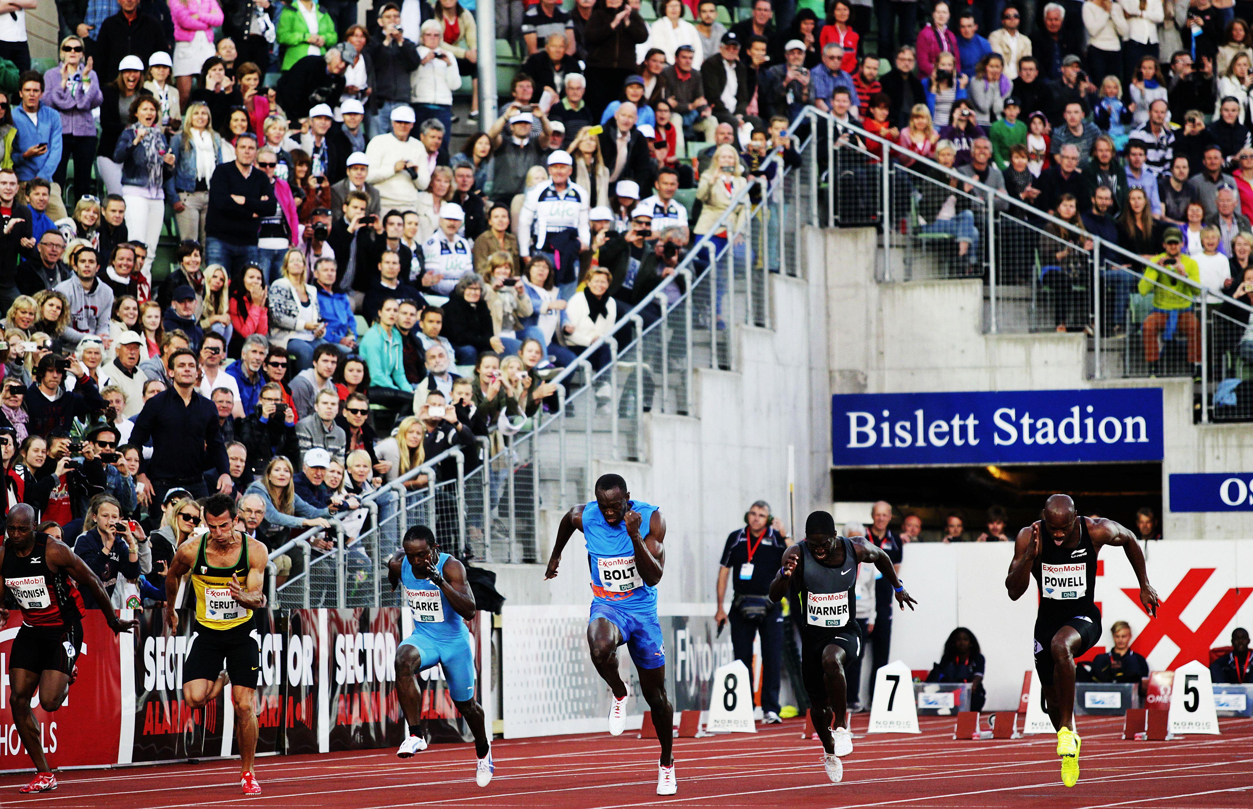 Oslo Bislett Games Bislett Games Oslo 2012