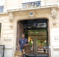 Shopping in Gucci