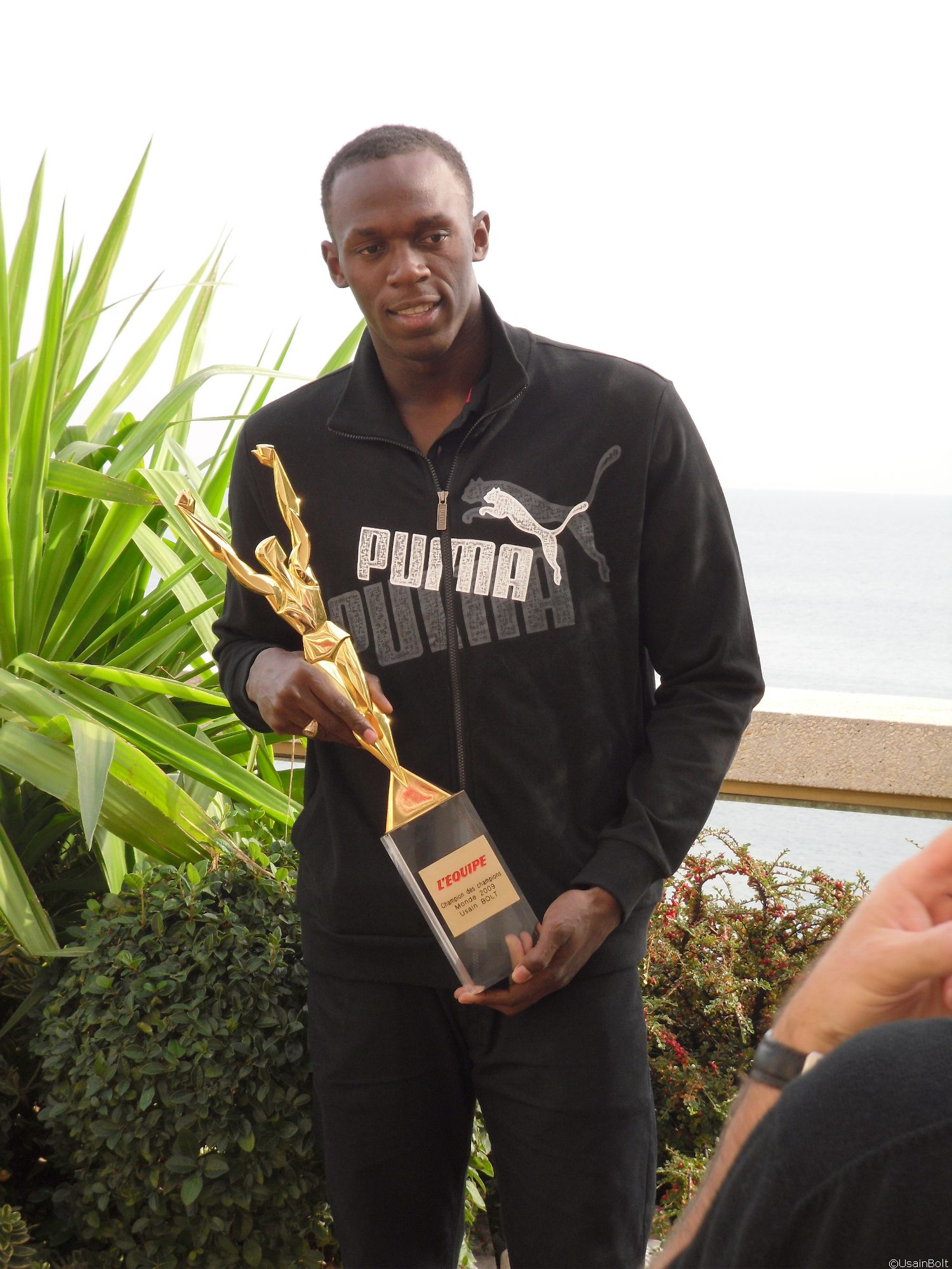 Usain Bolt nominated for Laureus Award
