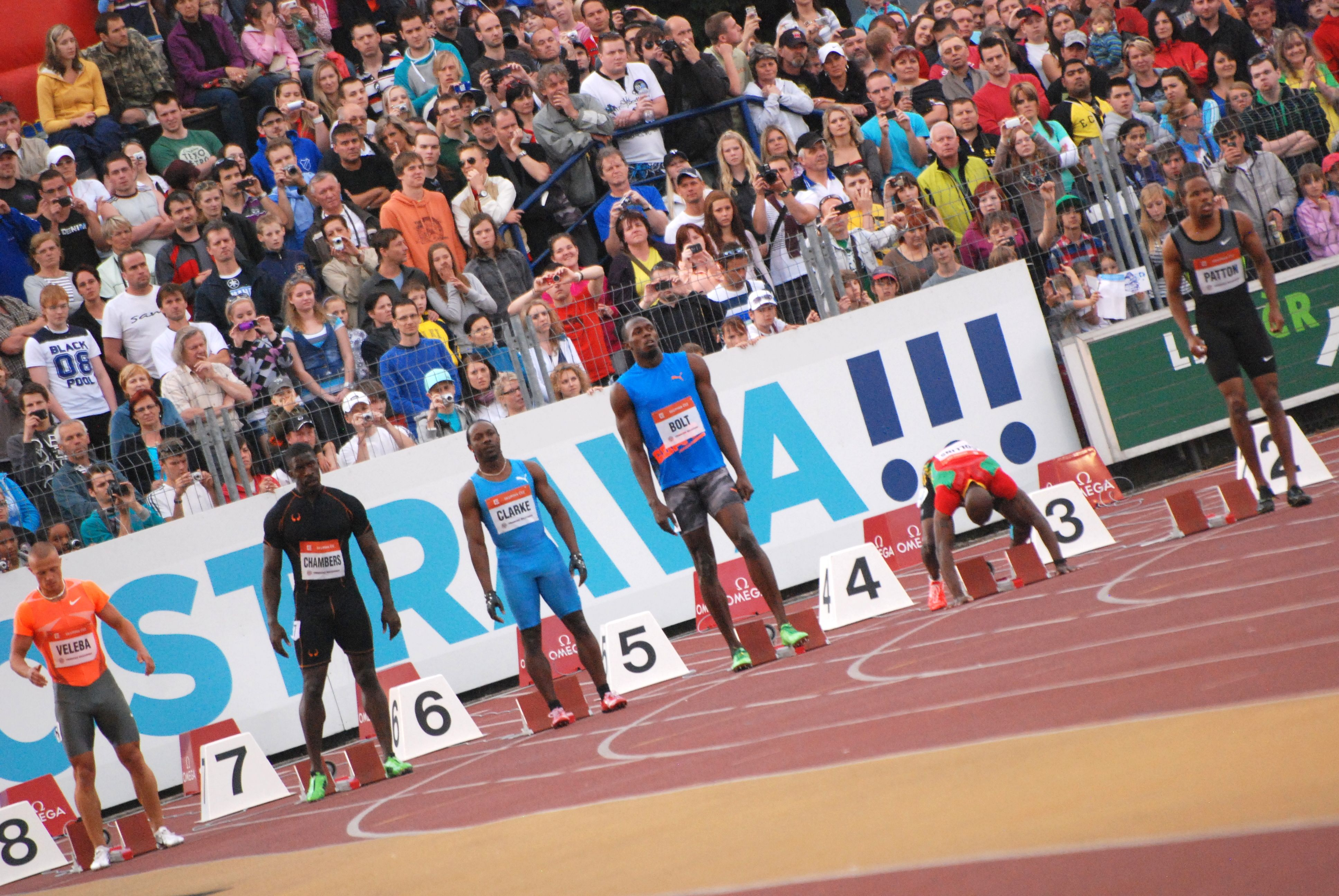 Usain will run the 4x100m relay in Ostrava