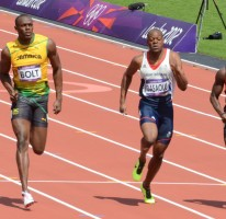Olympic Games 2012 100m Round 1