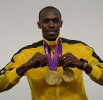 Usain is selected as the l'Equipe Sportsman of the Year