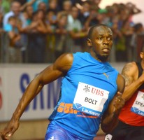 Usain runs meeting record of 19.58 in Lausanne