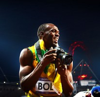 Charity auction for the camera used by Usain at the Olympic Games