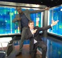 Usain on the Piers Morgan show