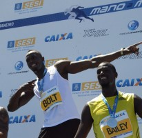 Usain wins Copacabana 150m sprint race in 14.42 secs
