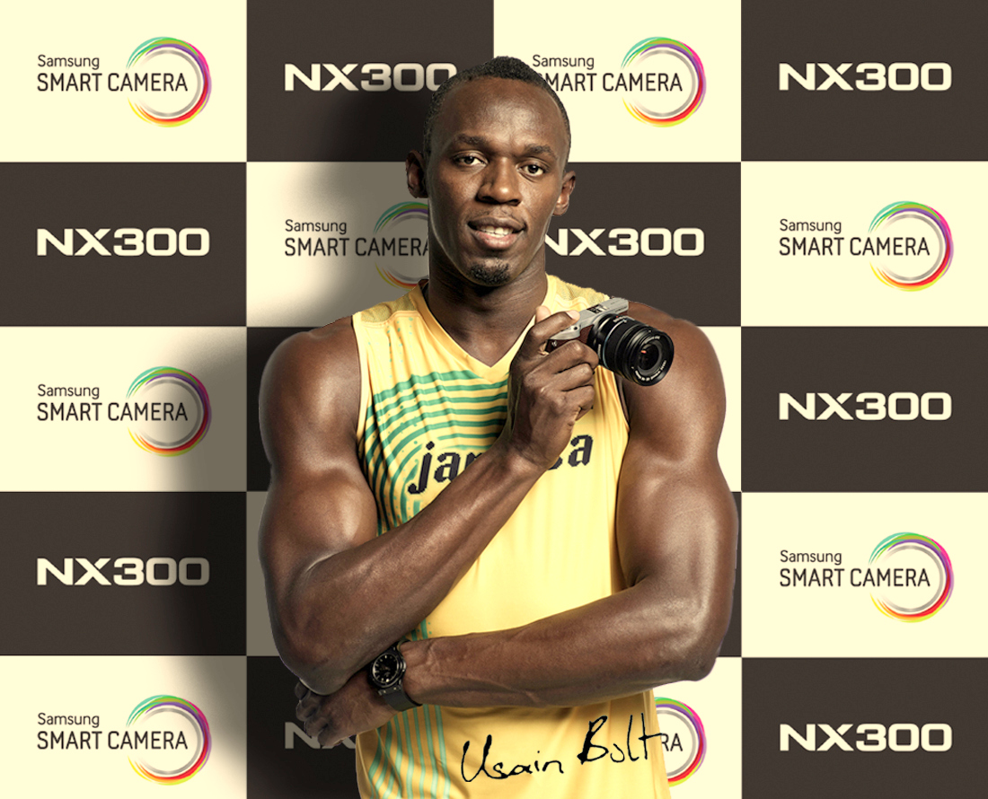 Samsung Camera partners with Usain Bolt