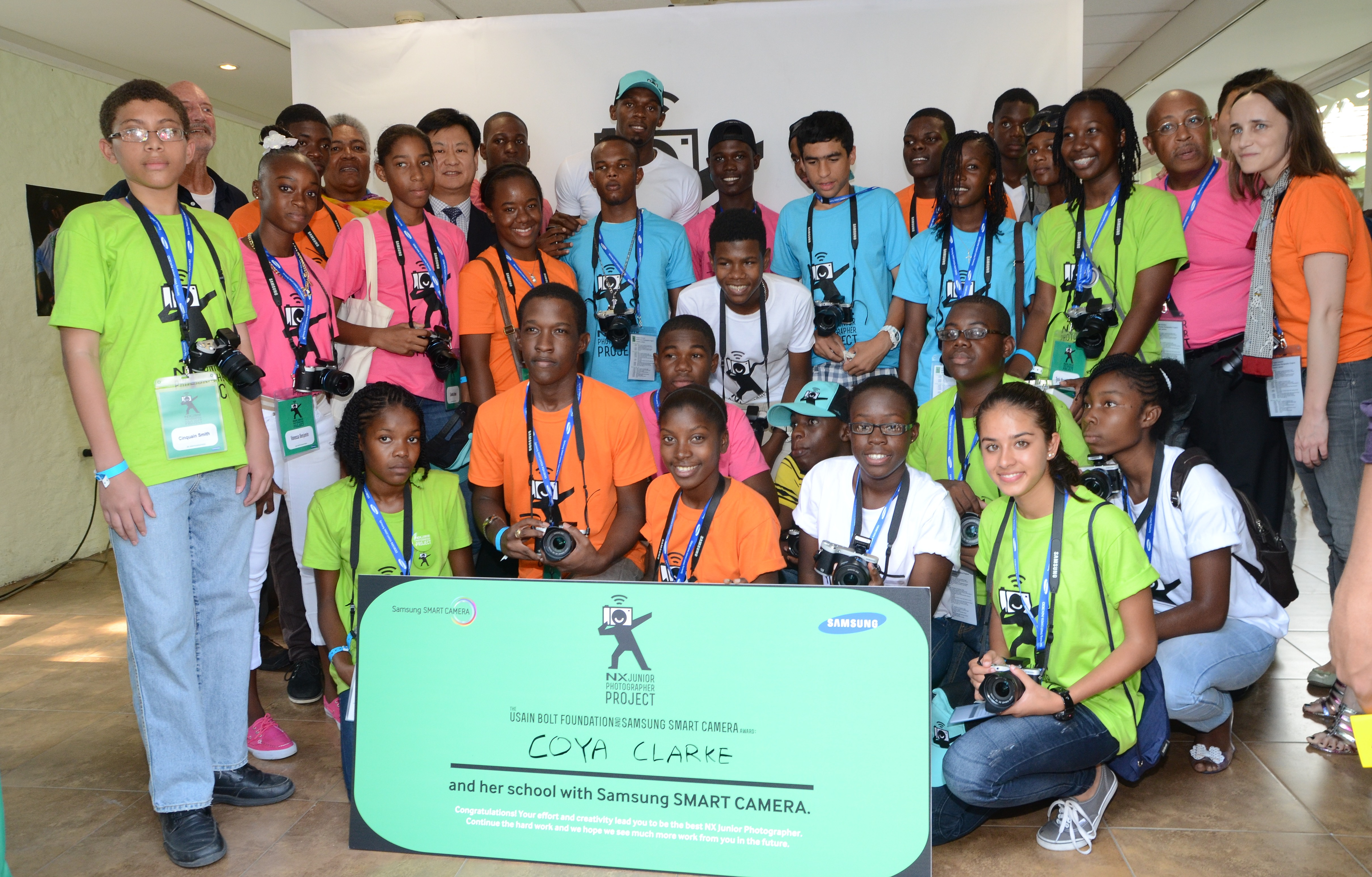Photos from the Usain Bolt Foundation Samsung Camera Workshop, May 2013