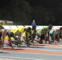 100m win in Cayman