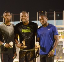 Usain wins Jamaican 100m title