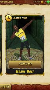 Usain Bolt Sprints into Temple Run 2