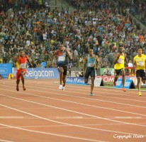 Usain makes it three wins in a row in Brussels