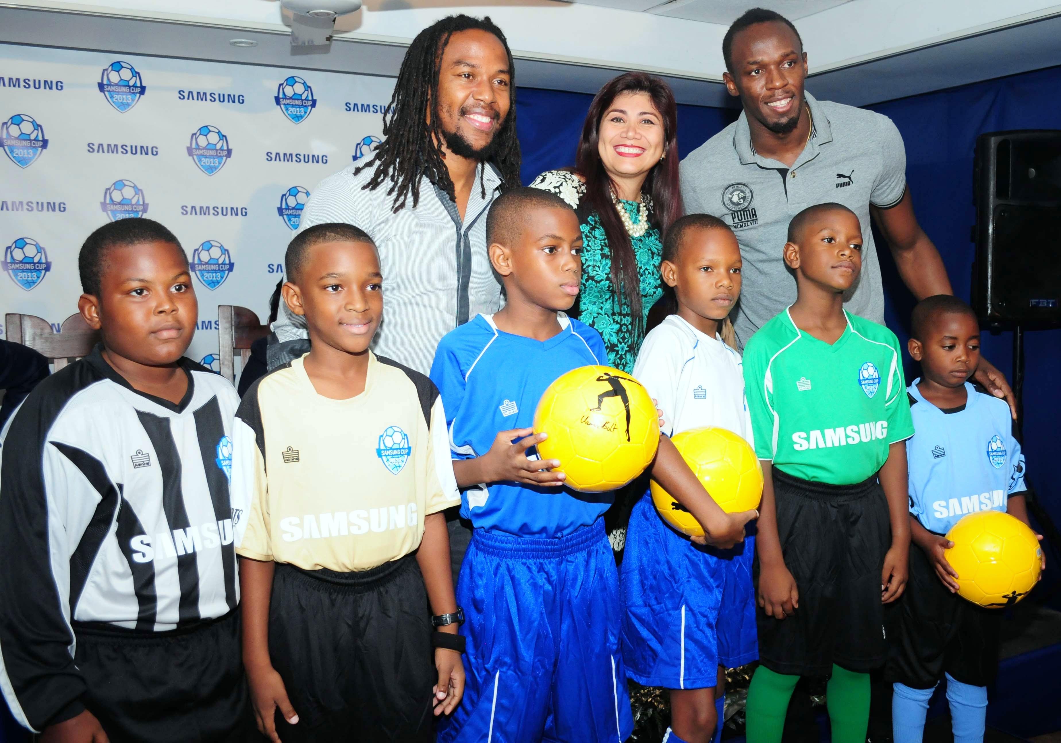 Usain Bolt Foundation sponsors Samsung Cup