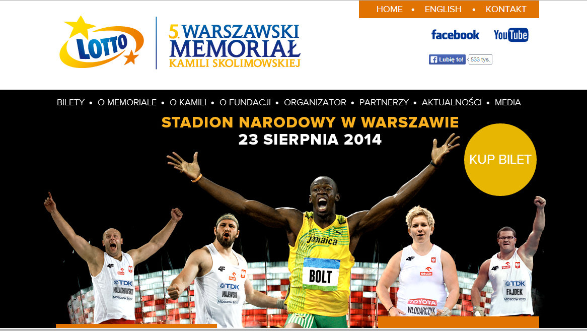 Race Announcement: Warsaw, August 23, 2014