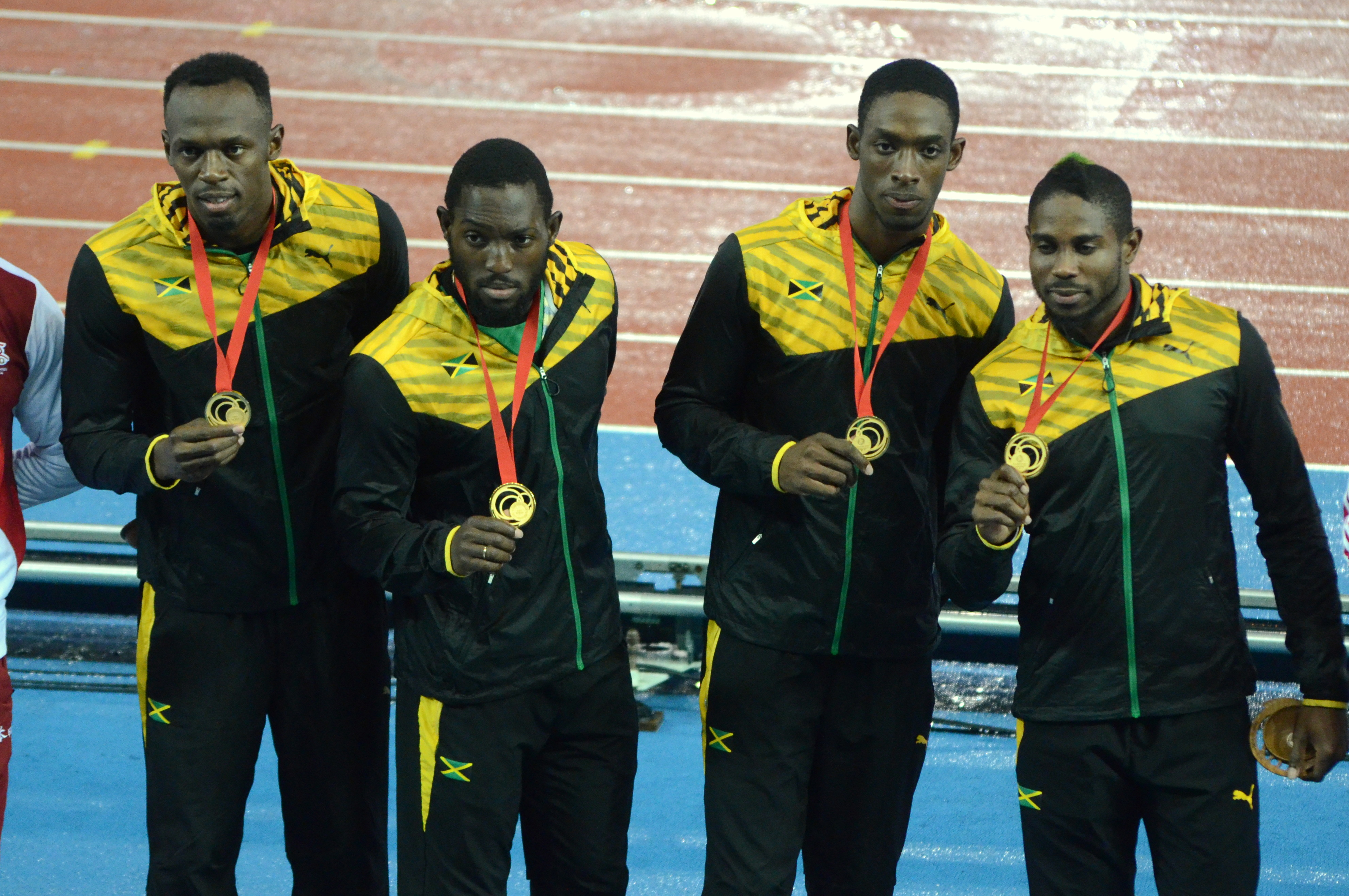 Usain wins Commonwealth Games 4x100m gold