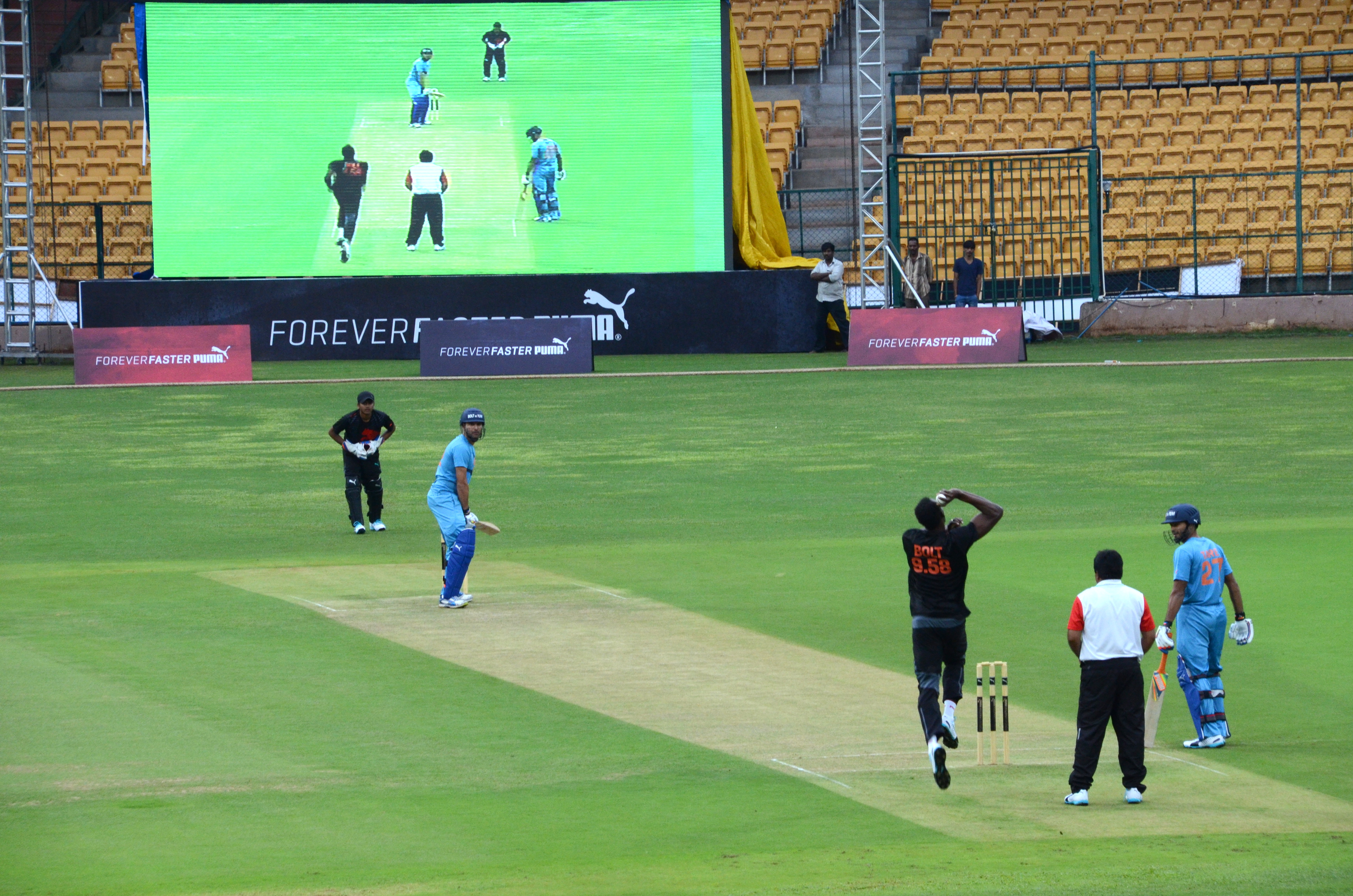 Cricket with Yuvraj Singh in India