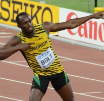 Usain wins World 100m title in Beijing