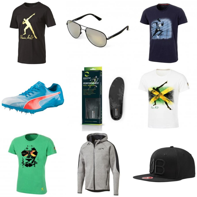 The Usain Bolt Online Store is now open