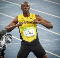 Usain adds the 200m gold medal
