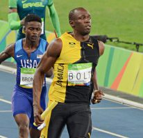 Usain wins 4x100m gold to complete the Triple Triple