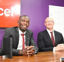 Usain is the new Digicel Chief Speed Office (CSO)