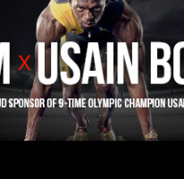 Usain partners with XM