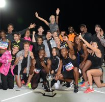 Bolt All-Stars win Nitro Athletics series
