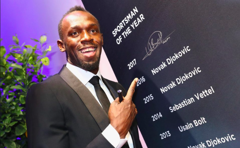 Usain wins 4th Laureus World Sportsman of the Year Award