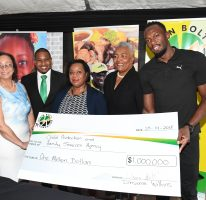 UBF donates JA$1m to Walkers Place of Safety