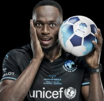 Usain to play in Socceraid at Old Trafford on June 10