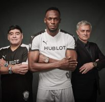 Usain plays in Hublot's Match of Friendship