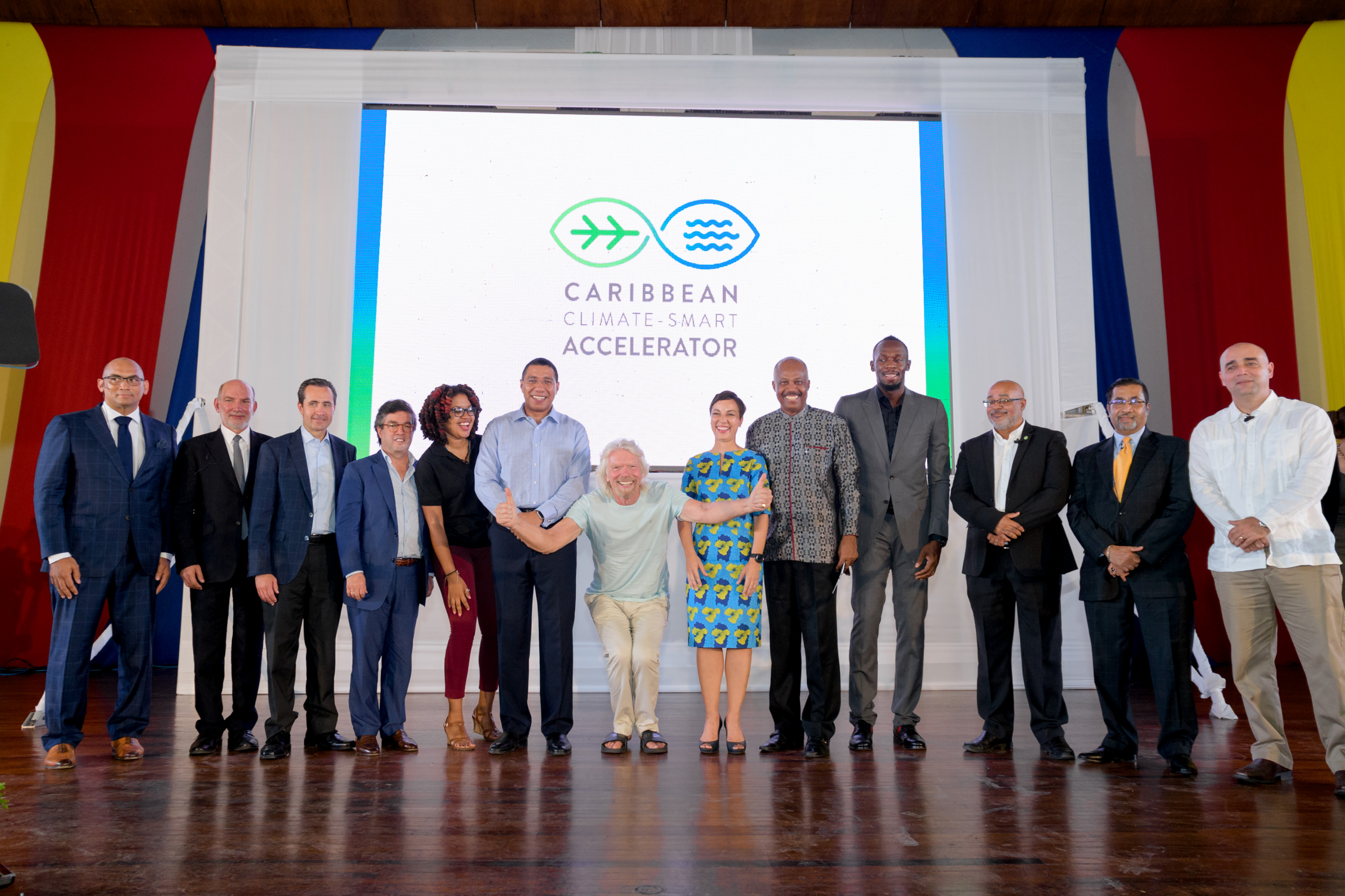 USAIN LAUNCHES CARIBBEAN CLIMATE SMART ACCELERATOR