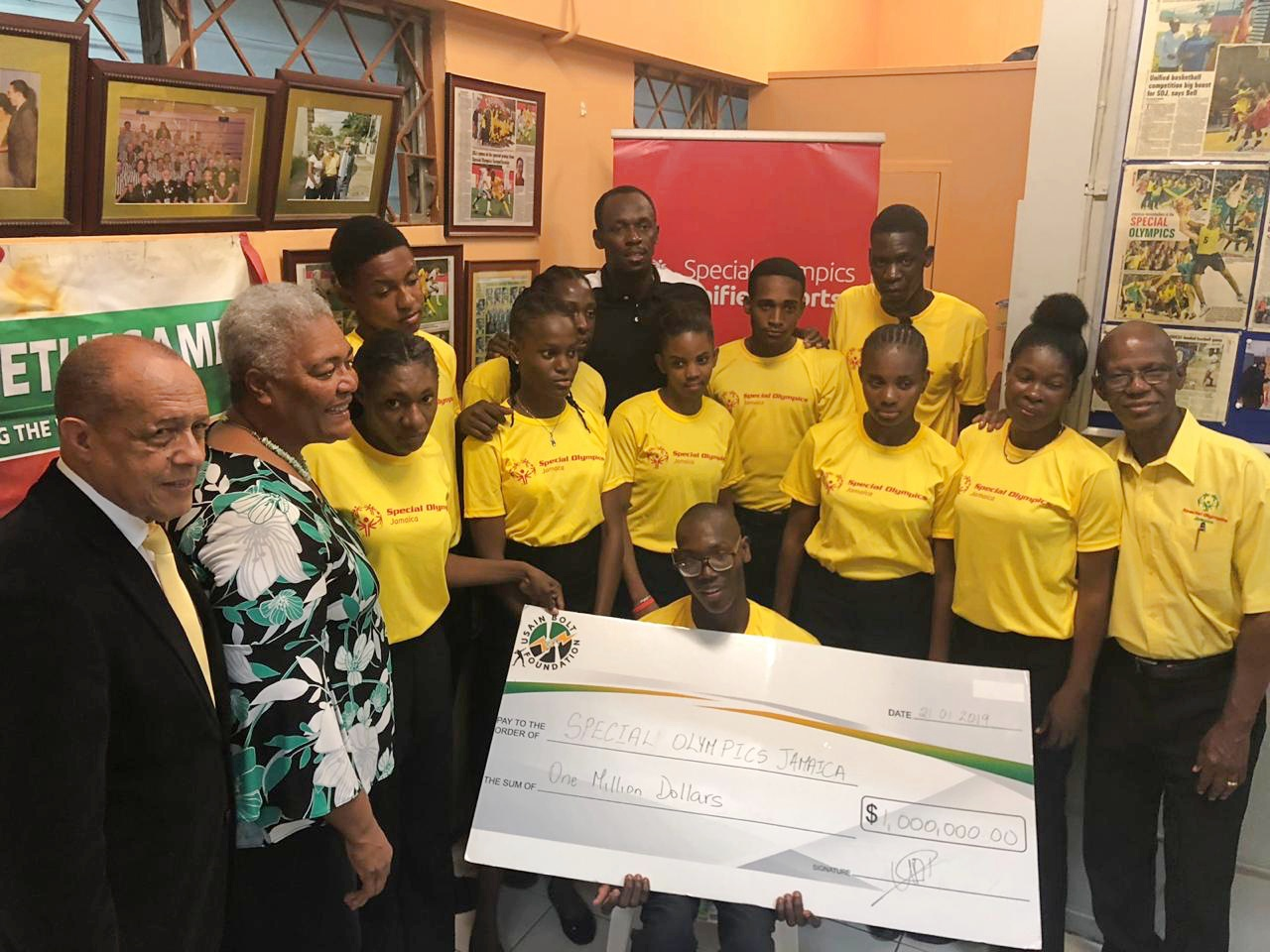 UBF sponsors Jamaican Special Olympic Team