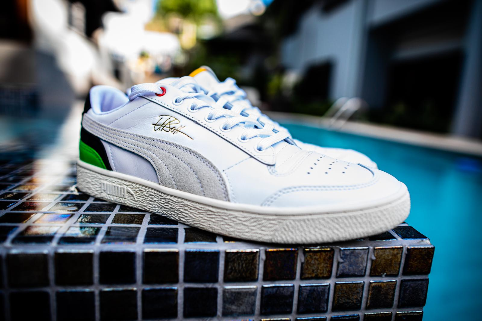 Puma x Usain Bolt Ralph Sampson trainers available on puma.com