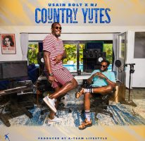 """USAIN BOLT LIVES THE DREAM ON HIS LATESTRELEASES EAGERLY AWAITED DEBUT ALBUM""""COUNTRY YUTES"""""""