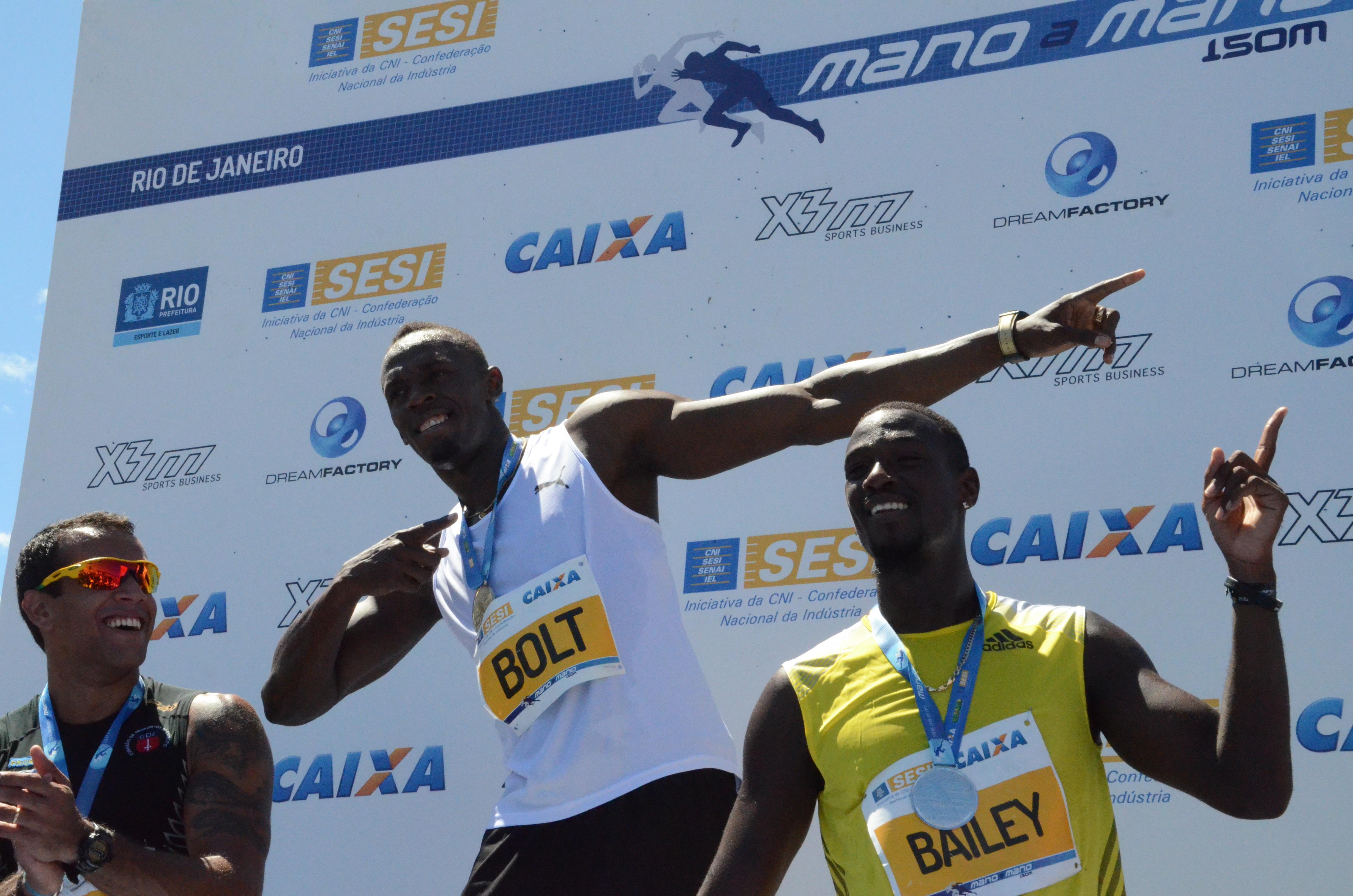 Usain wins Copacabana 150m sprint race in 14.42 secs